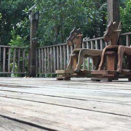 Zalety budowy tarasów z drewna